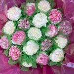 19 hot pink bouquet
