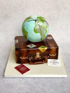 globe suitcases