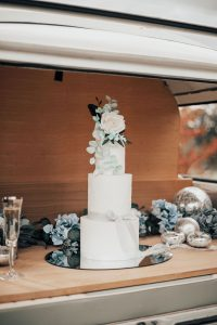 Elvetham Cake in Campervan Boot
