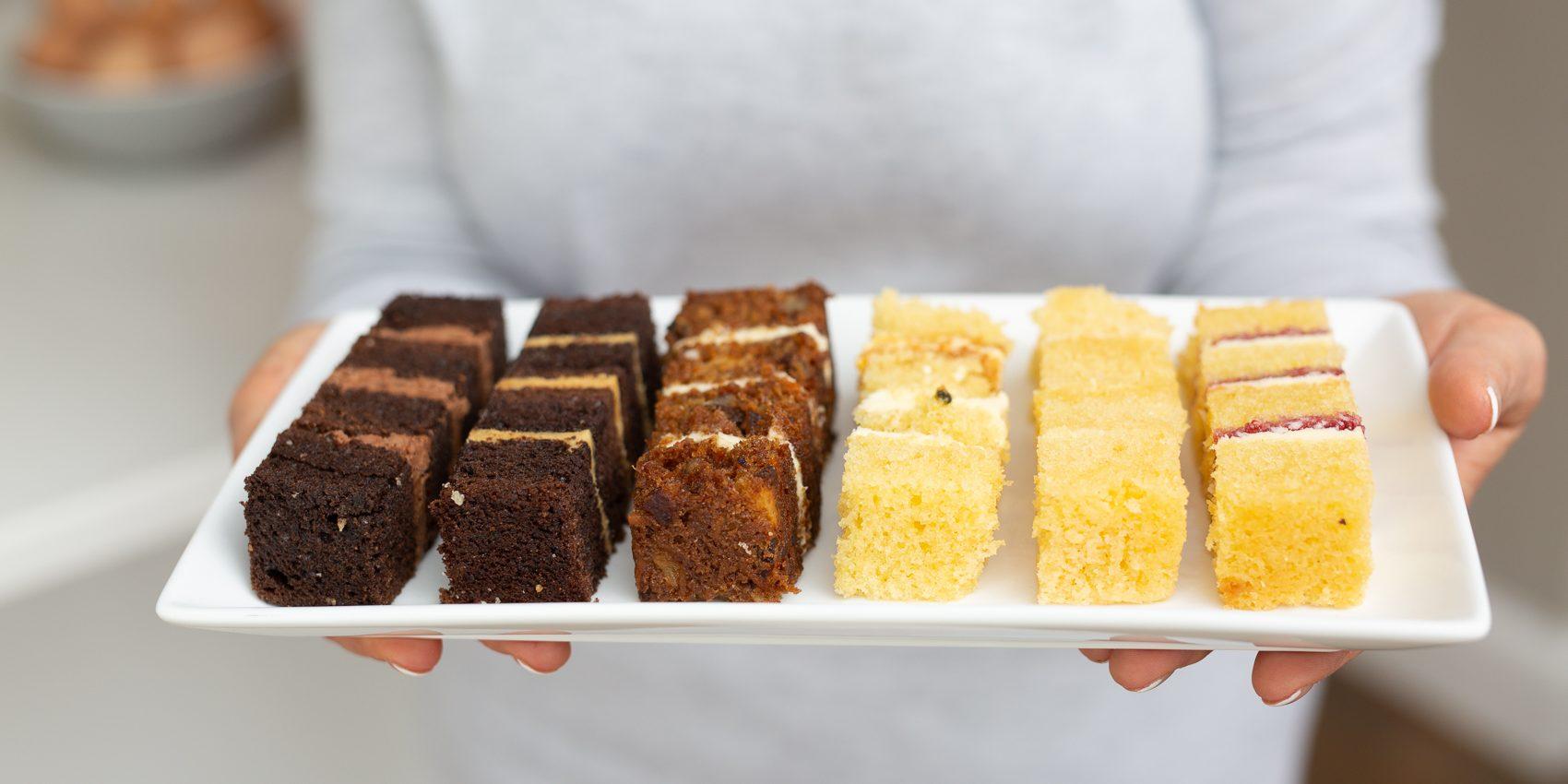 cake flavour menu